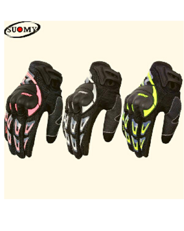 SU-11 SUOMY MOTORCYCLE RIDING GLOVES